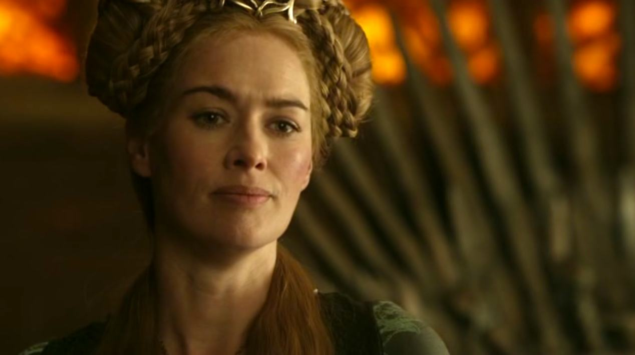 Cersei Lannister (Lena Headey) in GOT 1x07