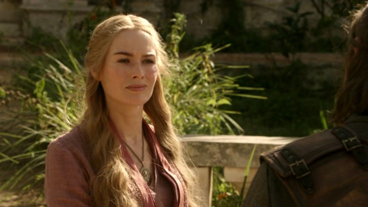 Cersei (Lena Headey) in GOT 1x07