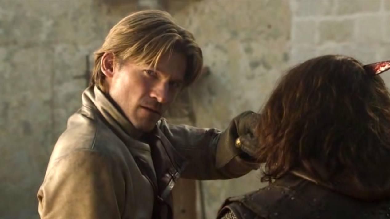 Jaime (Nikolaj Coster-Waldau) in GOT 1x05