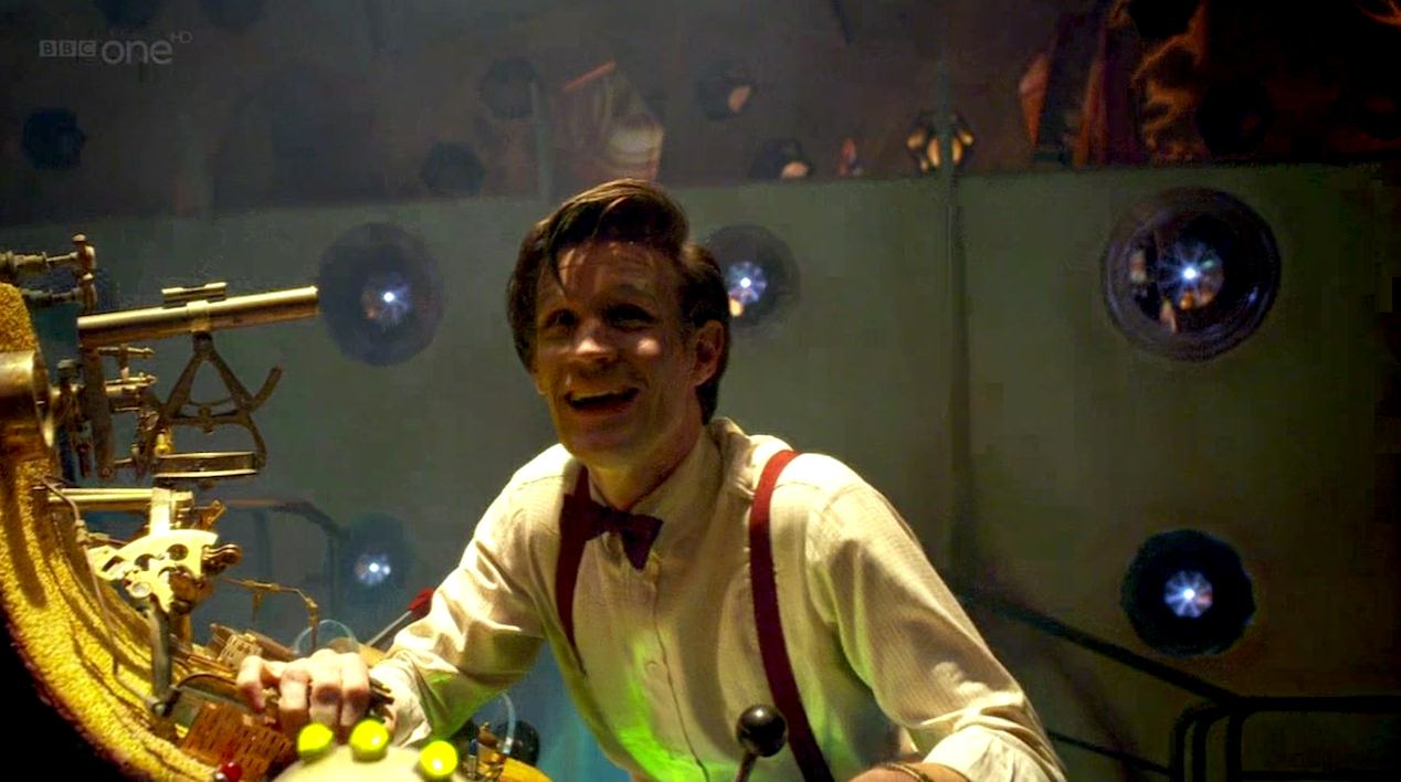 The Doctor (Matt Smith) in The Doctor's Wife