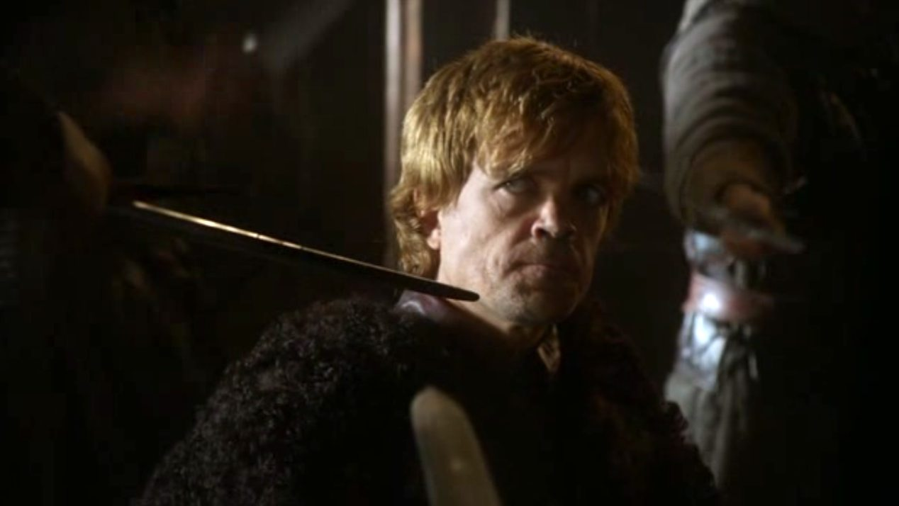 Tyrion Lannister (Peter Dinklage) in GOT 1x04