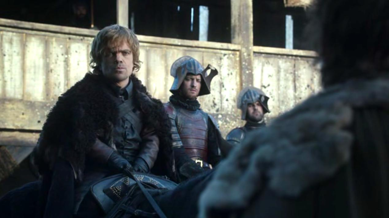 Tyrion (Peter Dinklage) in GOT 1x04