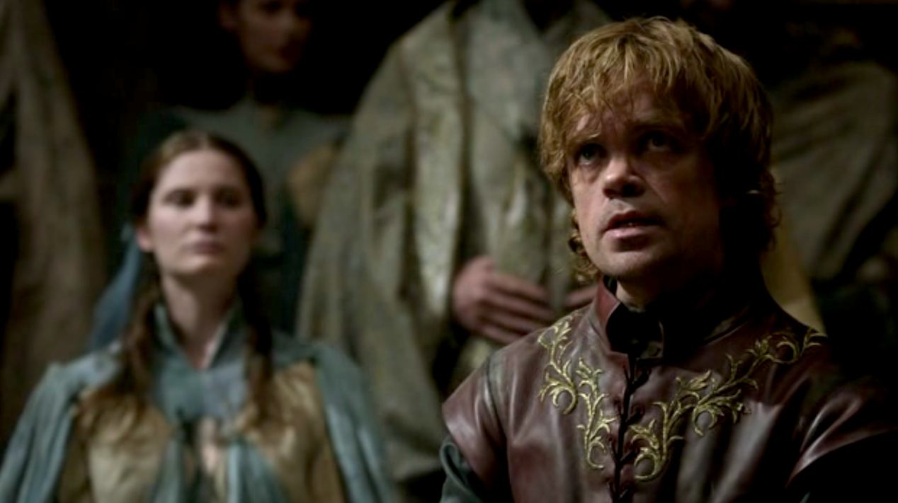 Tyrion (Peter Dinklage) in GOT 1x06