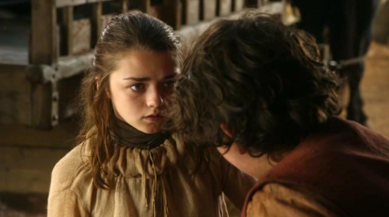 Arya (Maisie Williams) in GOT 108
