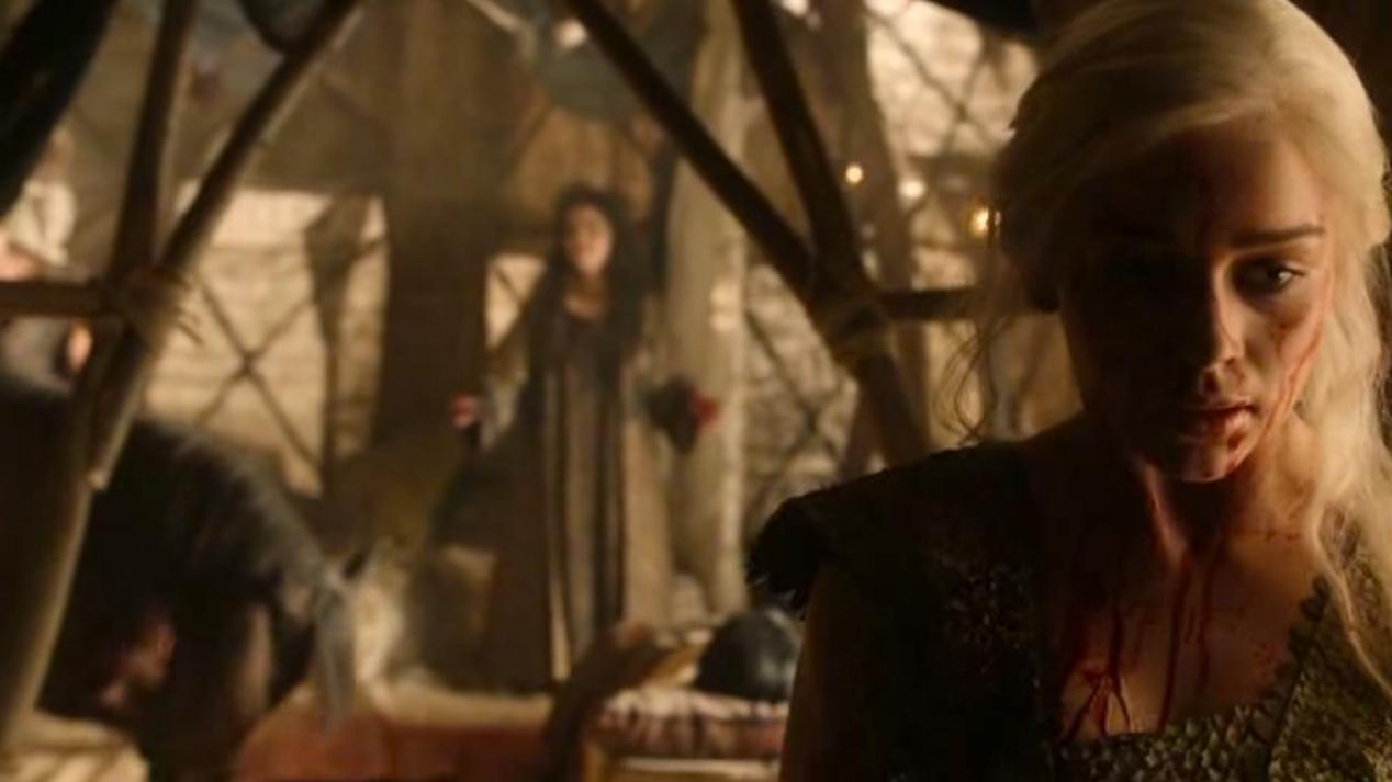 Daenerys (Emilia Clarke) in BAELOR