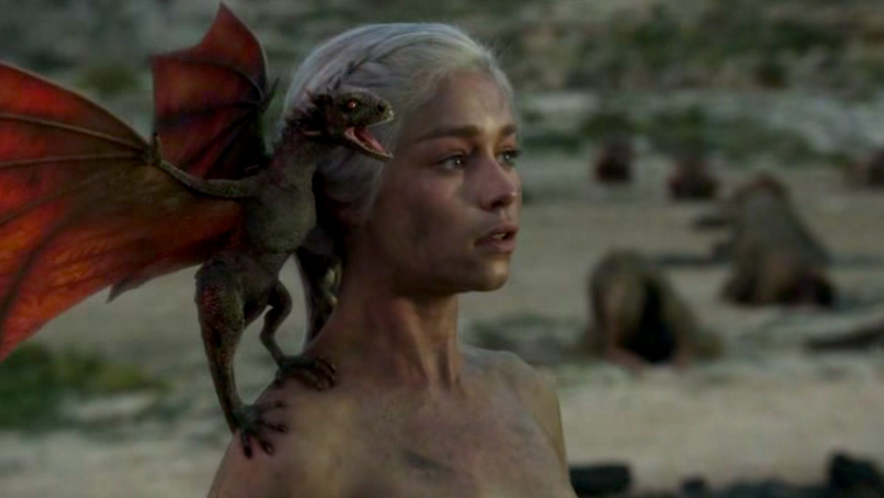 Dany (Emilia Clarke) in GOT 110