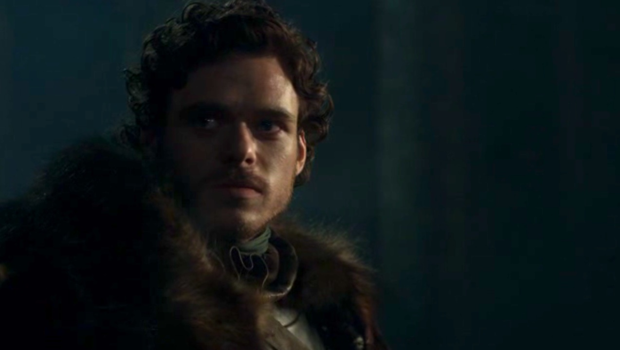 King Robb (Richard Madden) in GOT 110