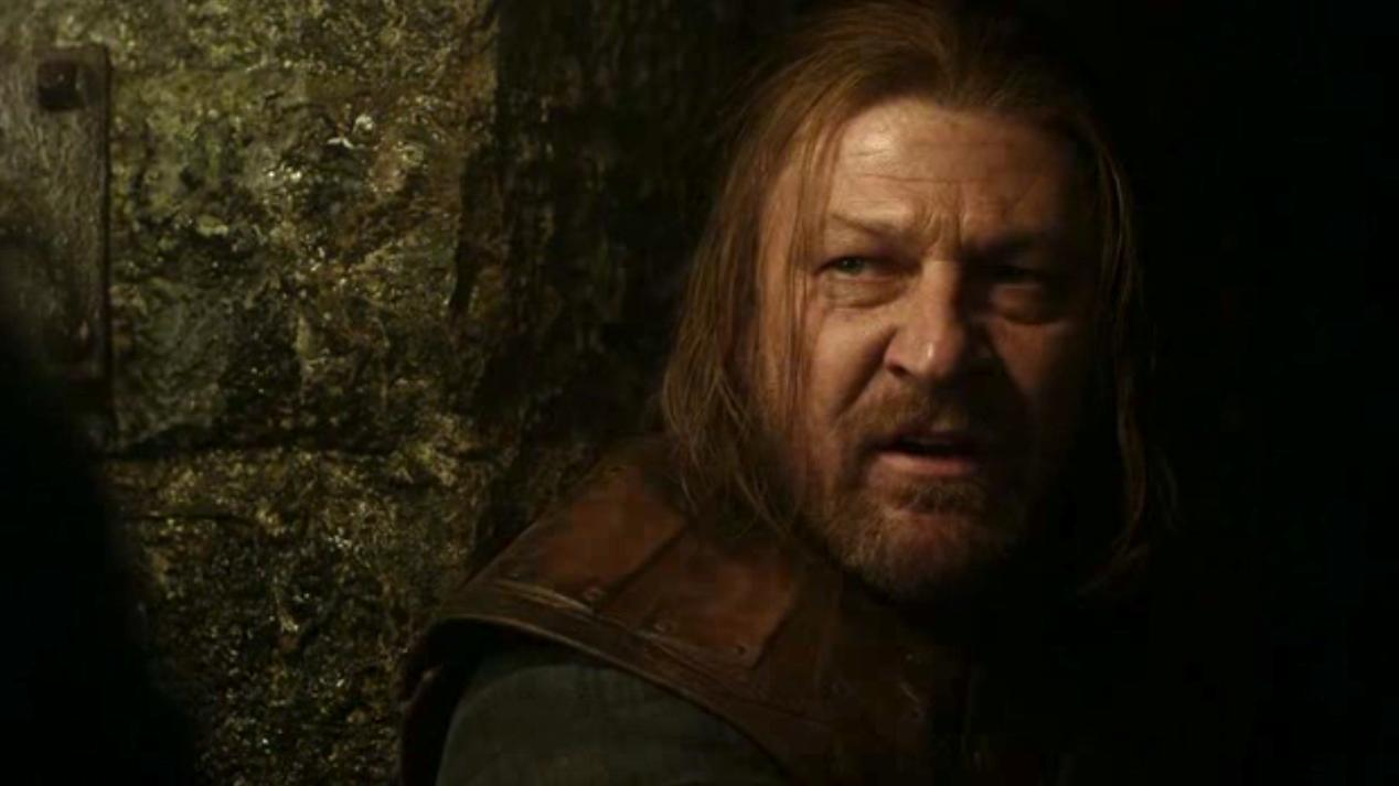 Ned (Sean Bean) in GOT 108