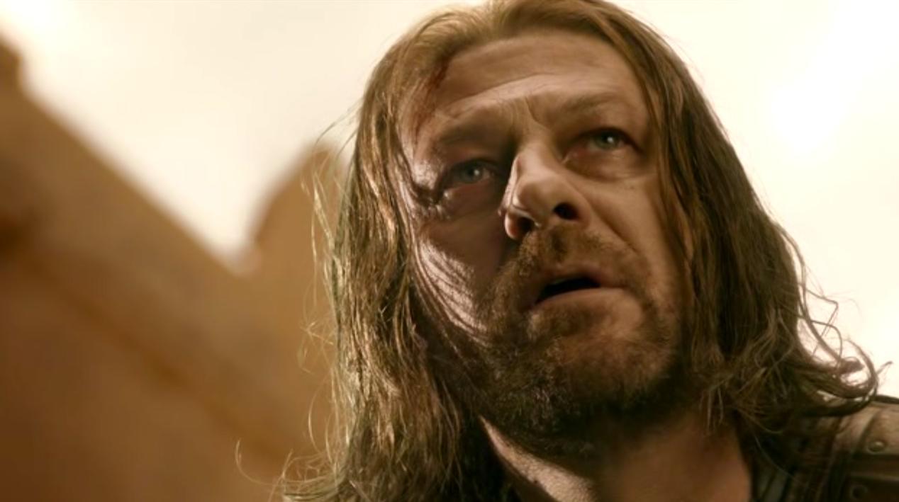 Ned Stark (Sean Bean) in BAELOR