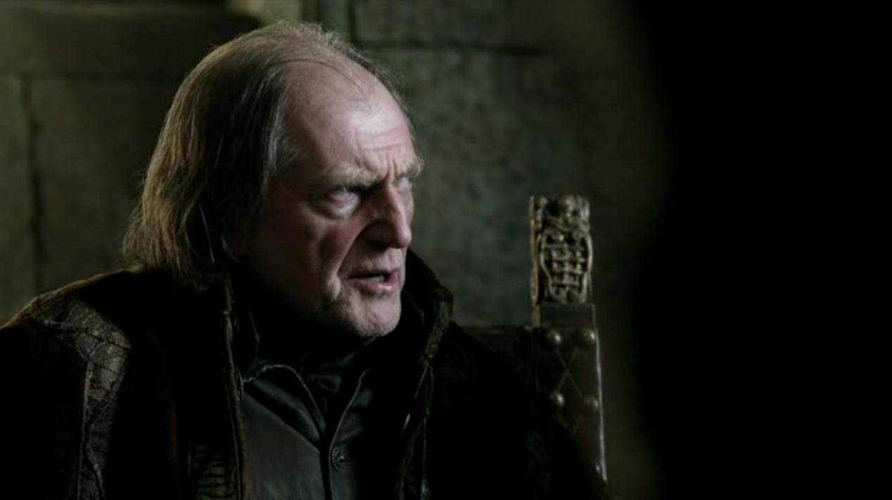 Walder Frey (David Bradley) in BAELOR