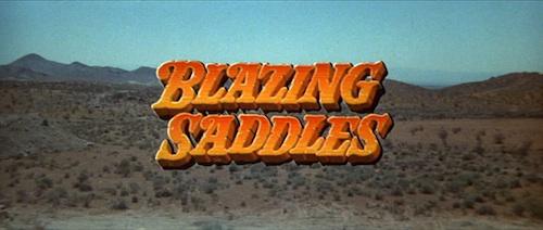 Blazing Saddles Titles