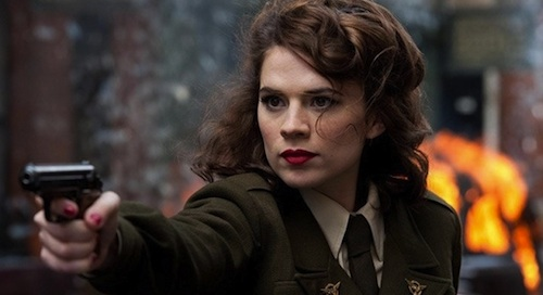 What s that you say  Cowboys and Aliens  Next weekend  Sigh    Hayley Atwell Peggy Carter
