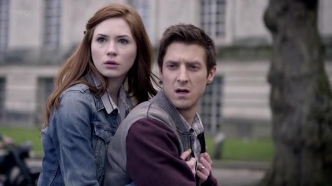 Amy-Karen-Gillan-and-Rory-Arthur-Darvill