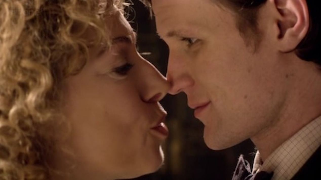 Melody-Alex-Kingston-and-the-Doctor-Matt-Smith