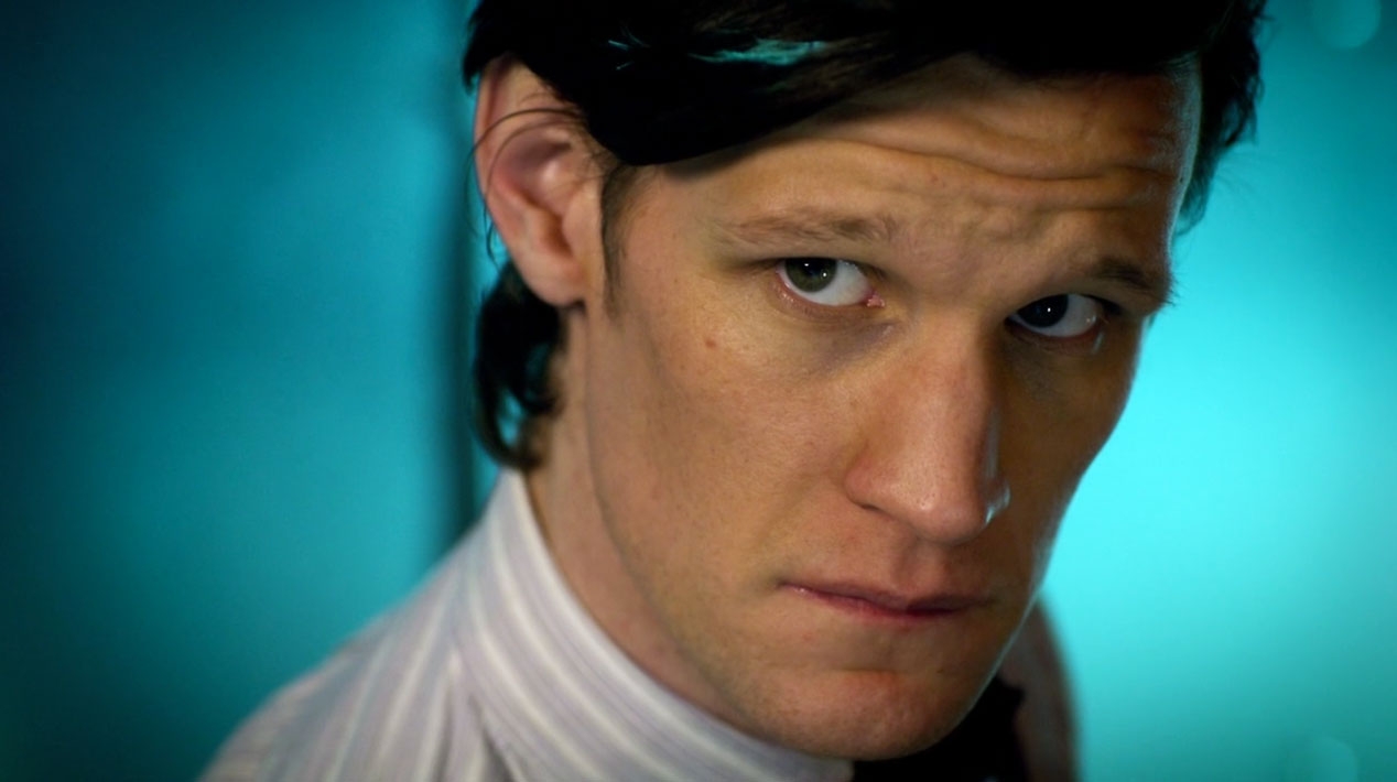 The-Doctor-(Matt-Smith)-in-The-Girl-Who-Waited
