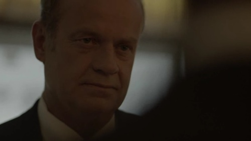 Kelsey Grammar as Thomas Kane