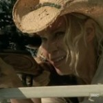 Andrea (Laurie Holden) gets her gun