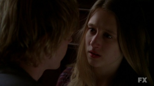 Tate (Evan Peters) and Violet (Taissa Farmiga)