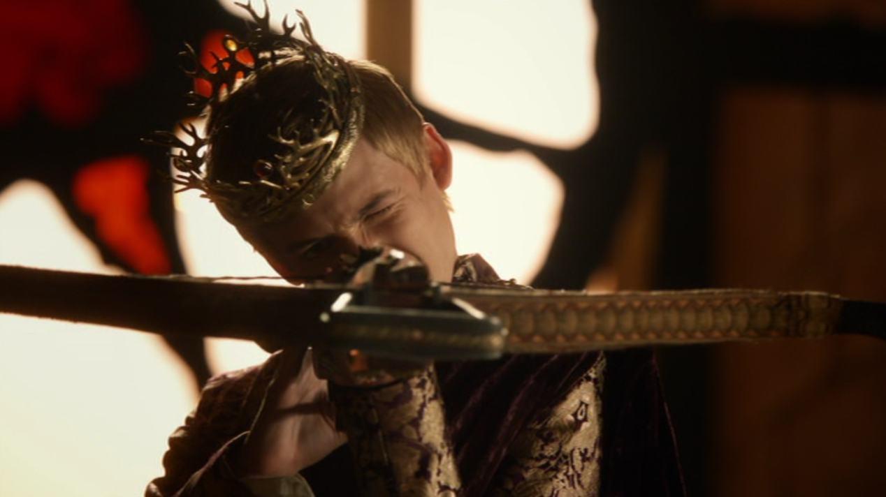 Joffrey (Jack Gleeson) in GOT 204