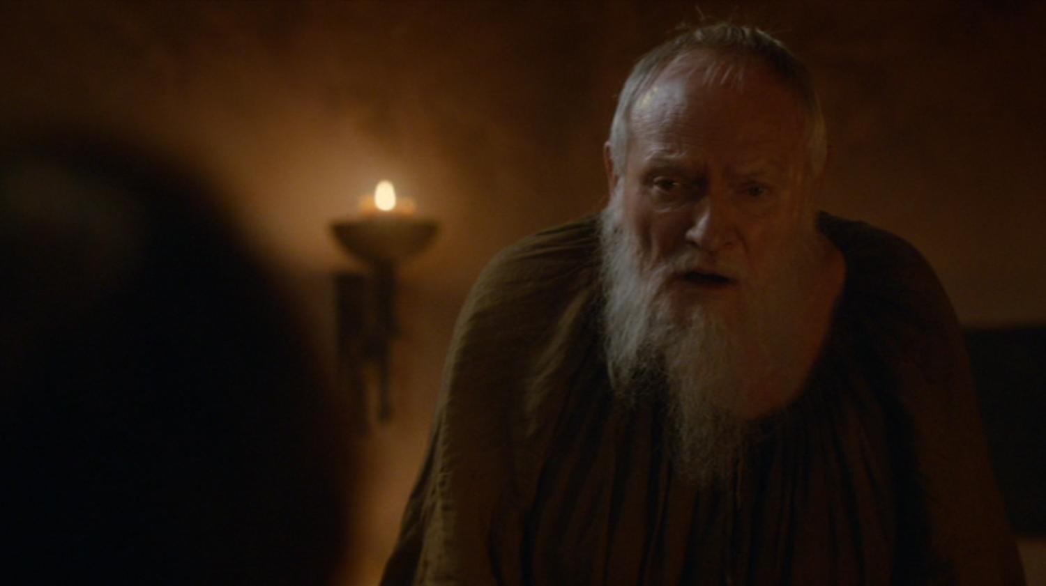 Pycelle (Julian Glover) in GOT 203