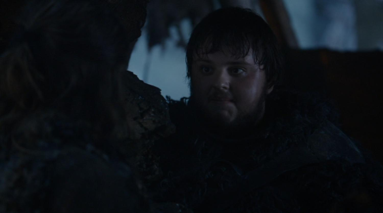 Sam (John Bradley) in GOT 203