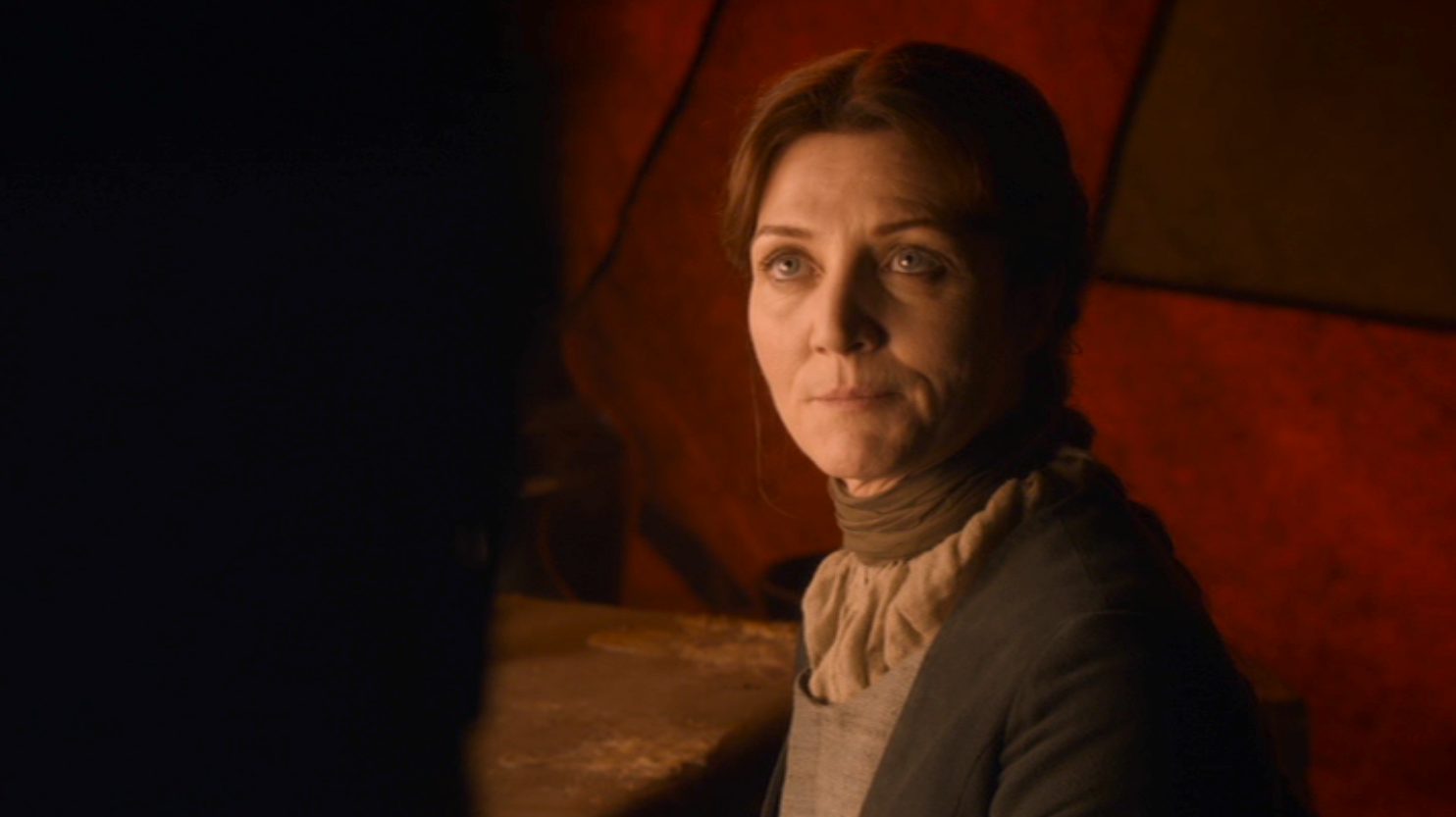 Catelyn (Michelle Fairley) in GOT 208
