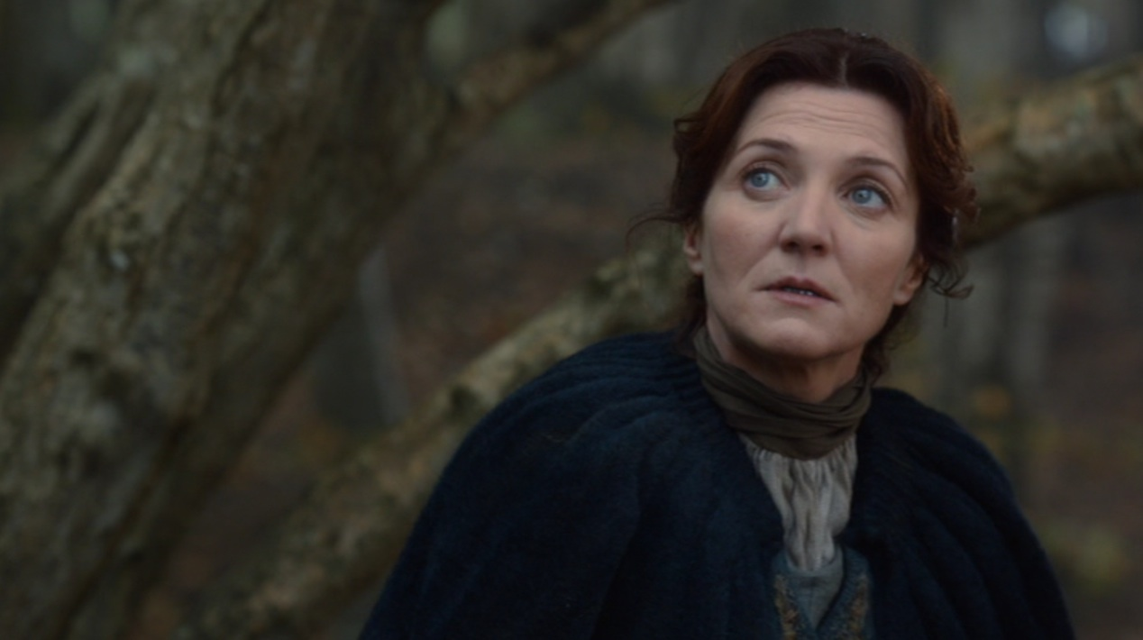 Catelyn Stark (Michelle Fairley) in GOT 205