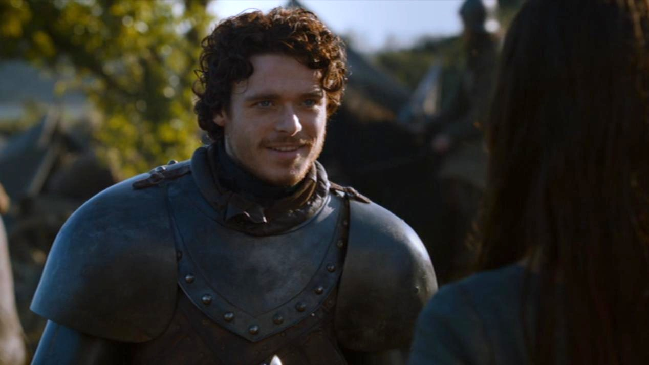 Robb Stark (Richard Madden) in GOT 206