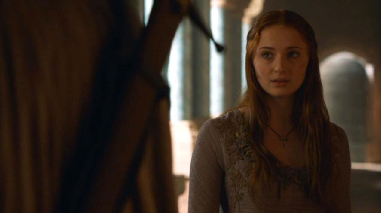Sansa (Sophie Turner) in GOT 207
