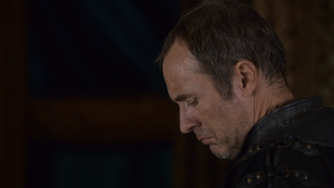 Stannis Baratheon (Stephen Dillane) in GOT 205