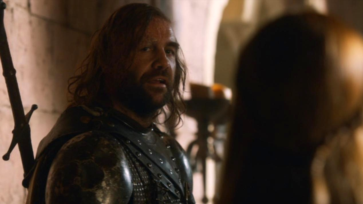 The Hound (Rory McCann) in GOT 207