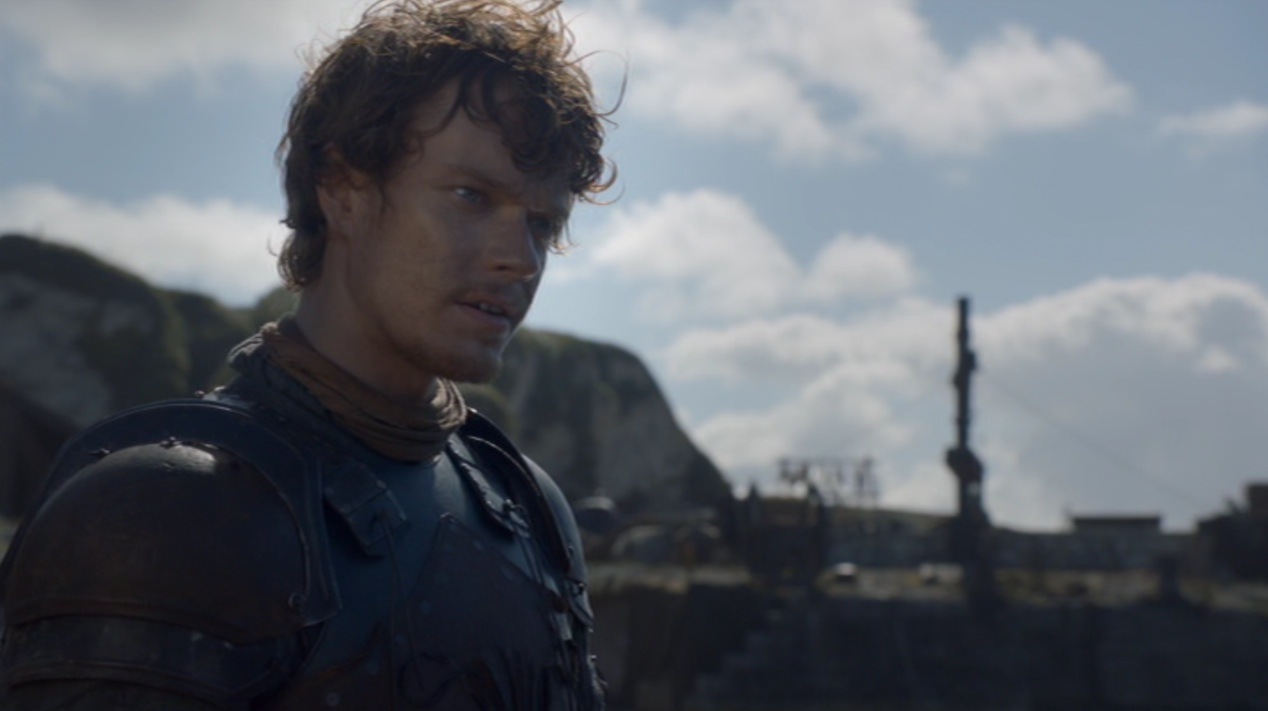 Theon Greyjoy (Alfie Allen) in GOT 205