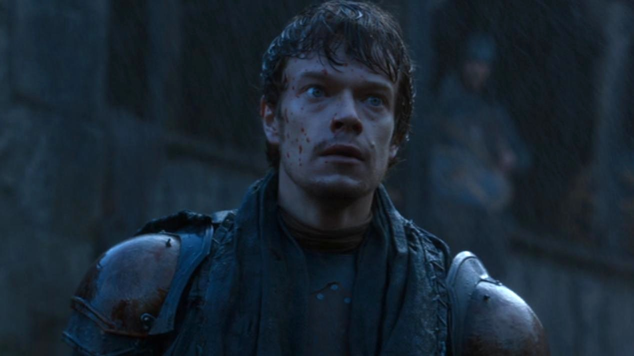 Theon Greyjoy (Alfie Allen) in GOT 206