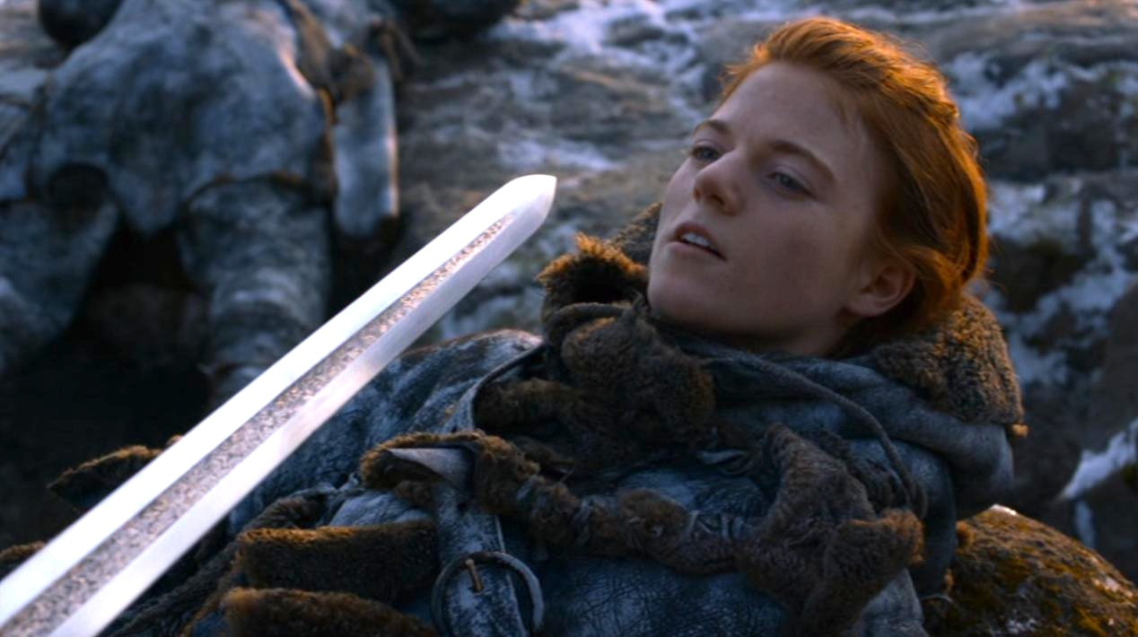 Ygritte (Rose Leslie) in GOT 206