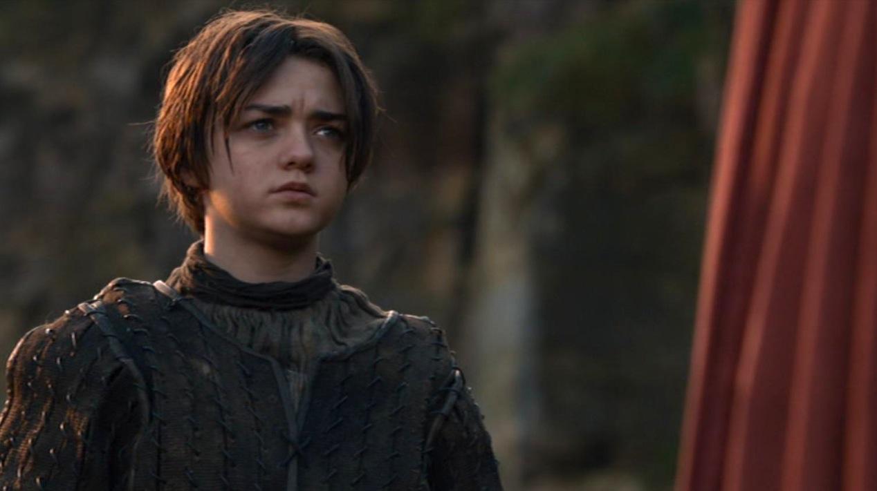 Arya (Maisie Williams) in GOT 210