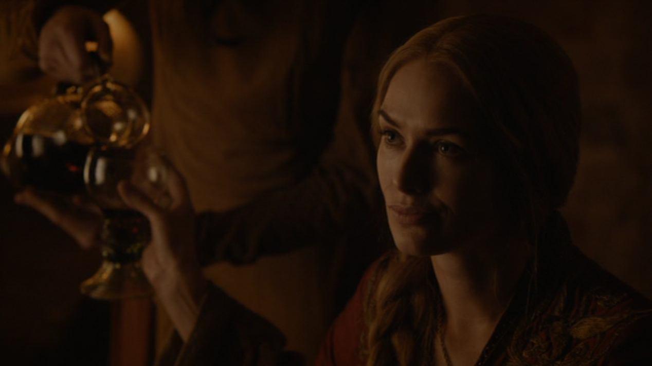 Cersei (Lena Headey) in BLACKWATER