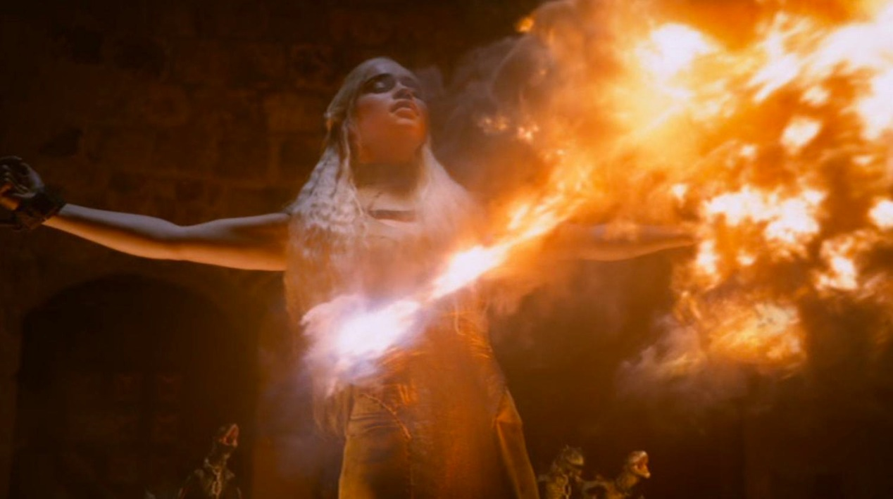 Daenerys Stormborn (Emilia Clarke) in GOT 210