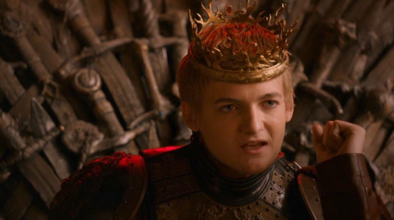 Joffrey (Jack Gleeson) in GOT 210