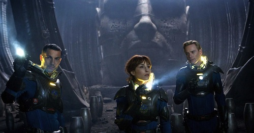 Logan Marshall-Green, Noomi Rapace, and Michael Fassbender
