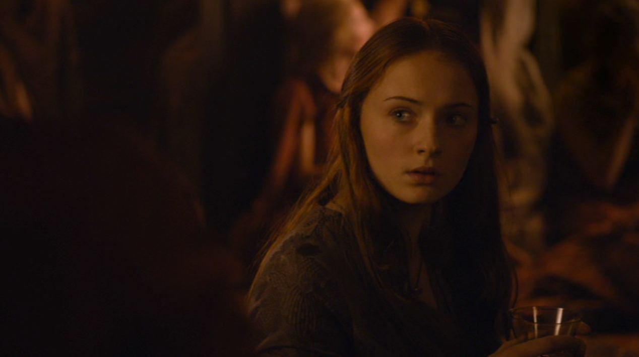 Sansa (Sophie Turner) in BLACKWATER