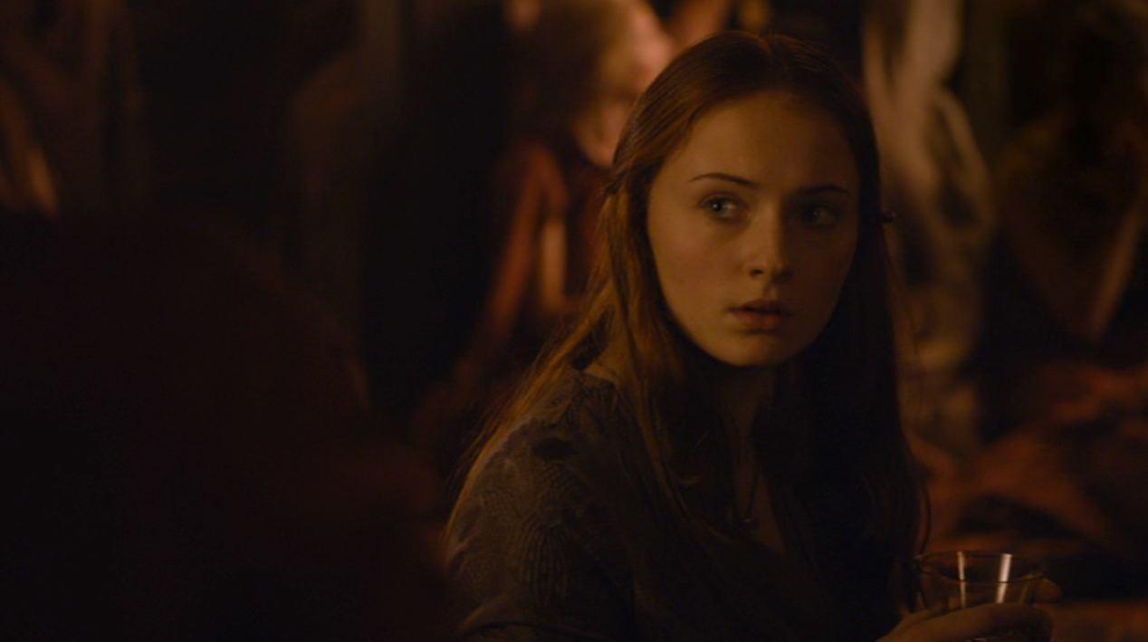 Sansa (Sophie Turner) in BLACKWATER
