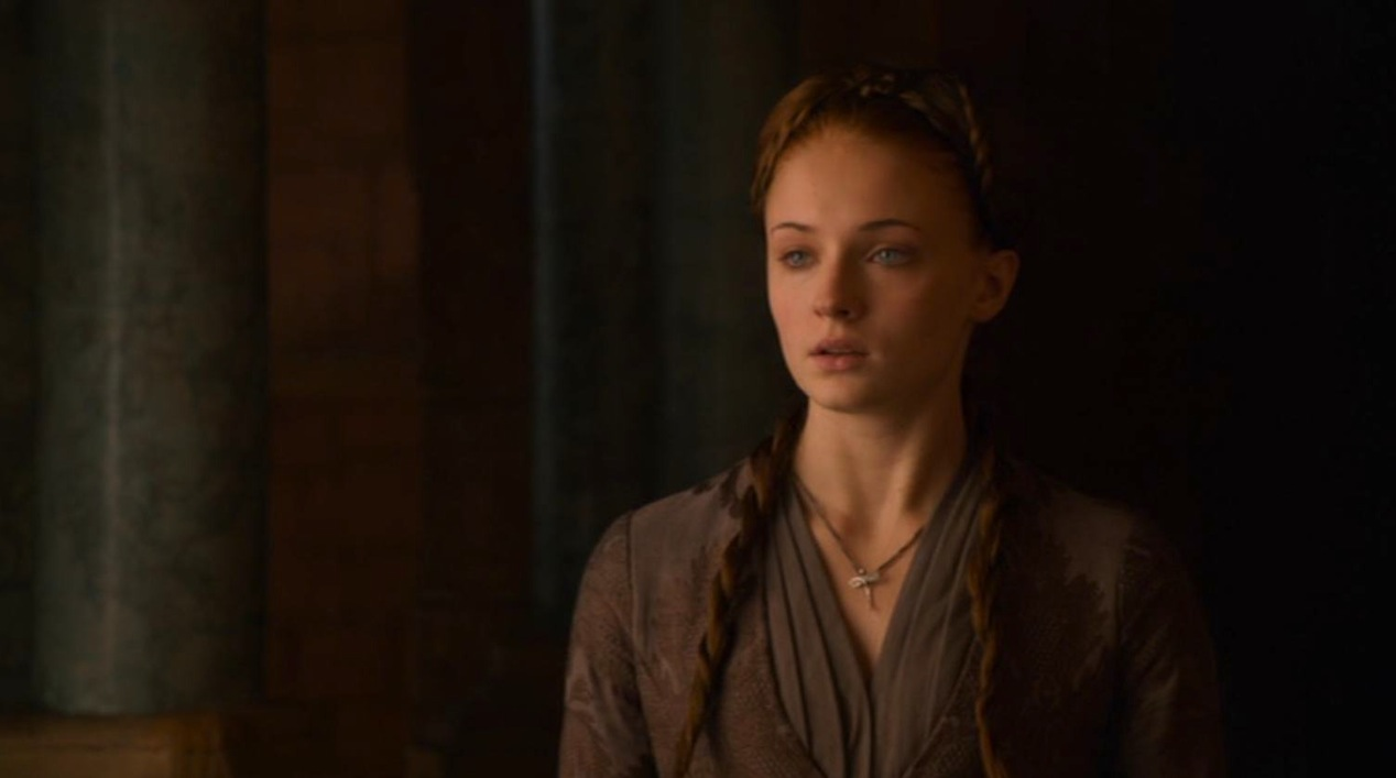 Sansa (Sophie Turner) in GOT 210