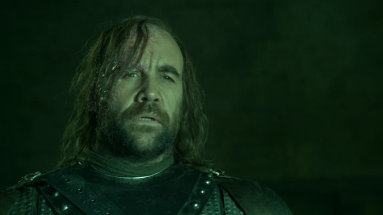 The Hound (Rory McCann) in BLACKWATER