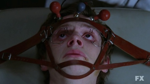 Evan Peters in AMERICAN HORROR STORY ASYLUM