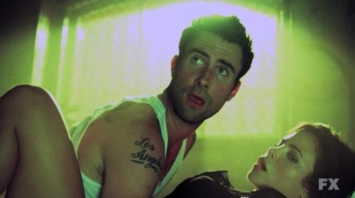 Adam Levine and Jenna Dewan-Tatum