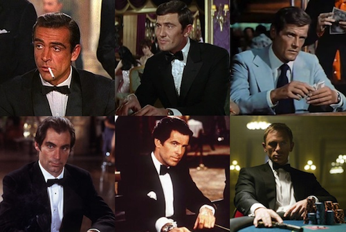 """Roger Moore Sean Connery """"super-spy james bond"""" is"""
