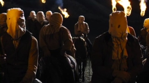 The Klan in DJANGO UNCHAINED