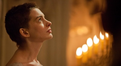 Anne Hathaway as Fantine in LES MISÉRABLES
