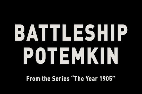 BATTLESHIP POTEMKIN Title Card