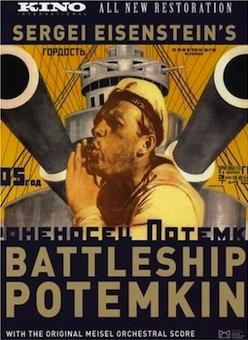 Battleship Potemkin, (1925).Directed by Sergei M. Eisenstein; screenplay by N. F. Agadzhanova-Shutko; cinematography by Eduard Tisse; music by Edmund Meisel.
